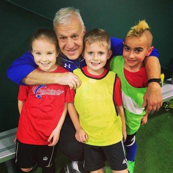 joe with kids winter 2